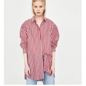Oversized Zara Shirt